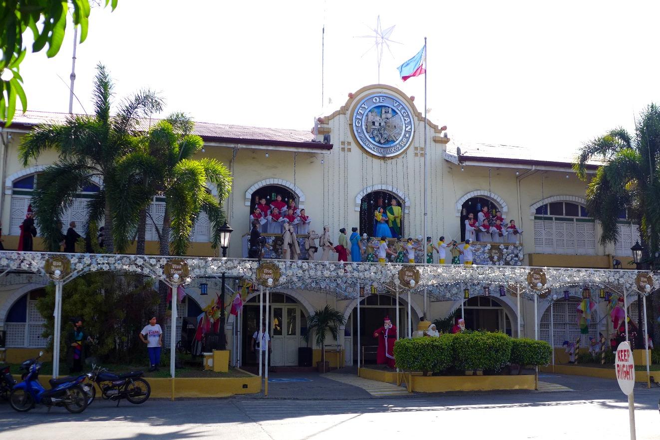 Vigan City Hall, Vigan Itinerary