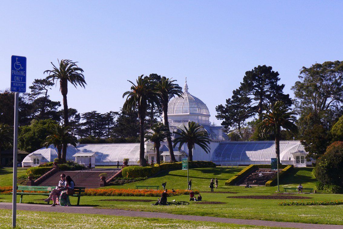 Conservatory of Flowers, Golden Gate Park, San Francisco