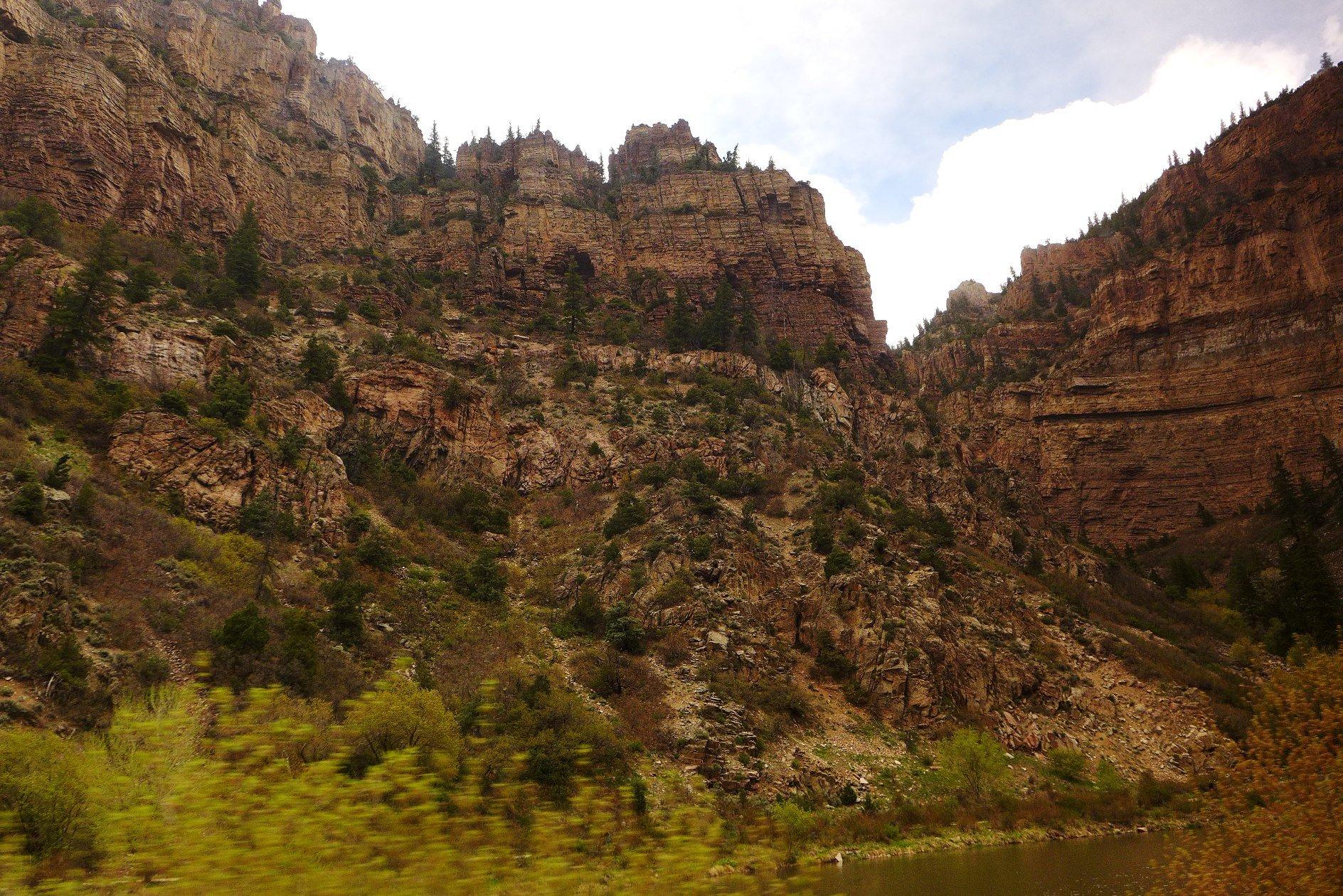 Colorado Canyons; California Zephyr