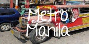 Metro Manila; Backpacking Philippines