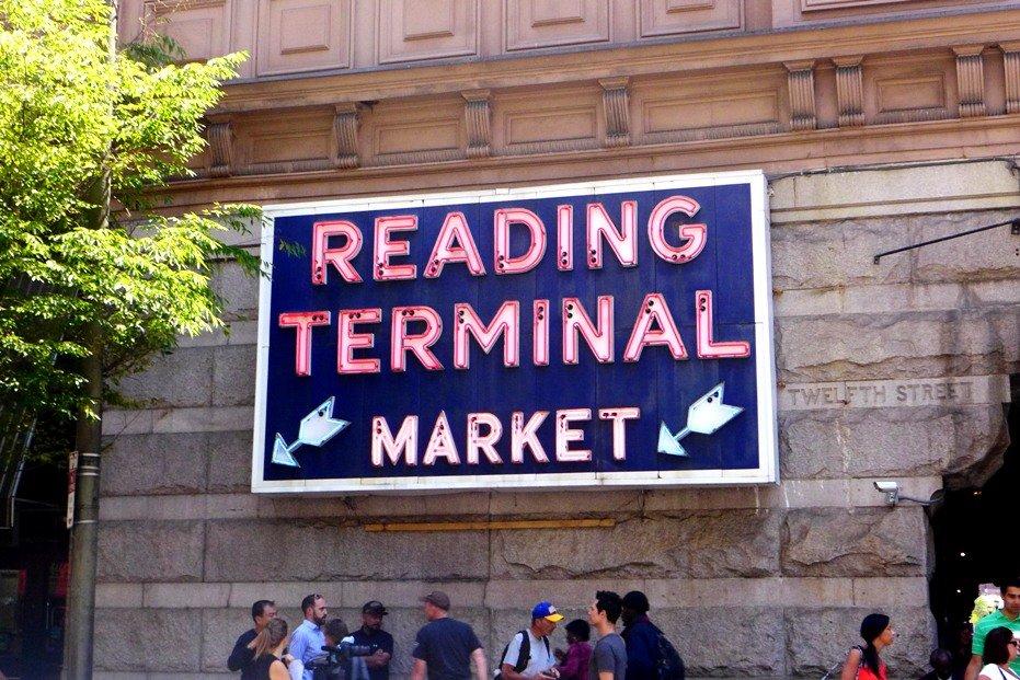 Reading Terminal Market, Philadelphia; What to Eat in Reading Terminal Market