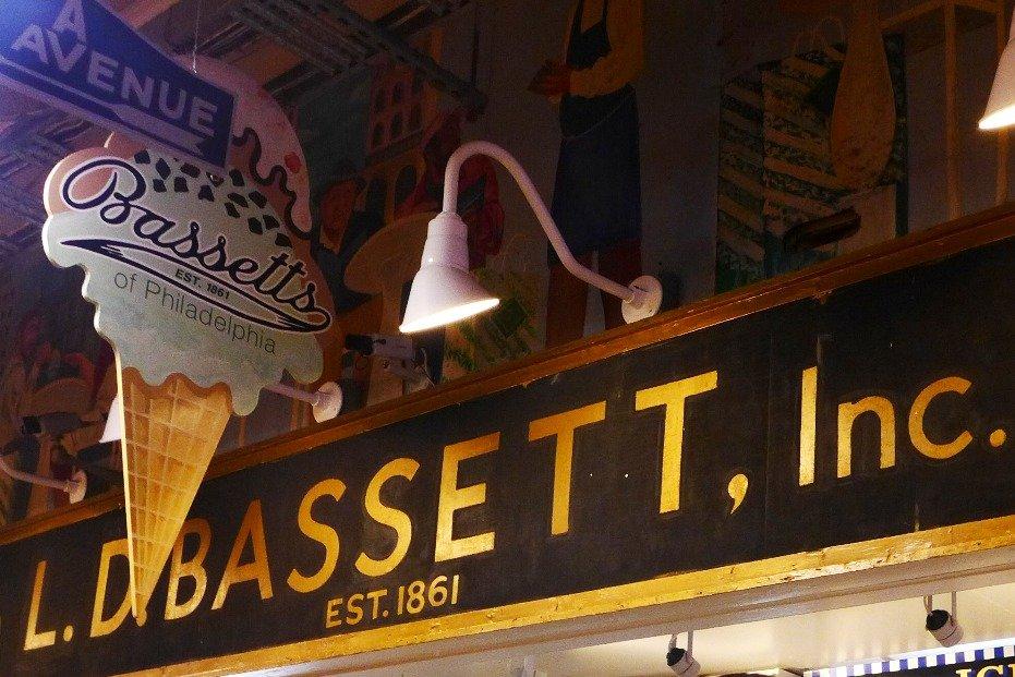 Bassetts Ice Cream, Reading Terminal Market, Philadelphia