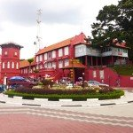 Melaka Heritage: Shophouses and Red Buildings