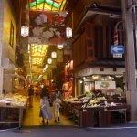 Snacking at Kyoto's Nishiki Market